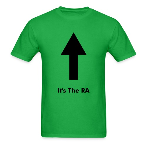 It's The RA - Men's T-Shirt