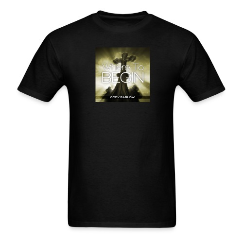 Where to Begin Men's Black T - Men's T-Shirt