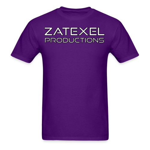 Zatexel Productions Logo T-Shirt - Men's T-Shirt