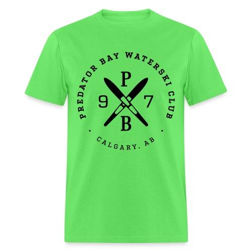 Mens T-Shirt - Kiwi/Black - Men's T-Shirt