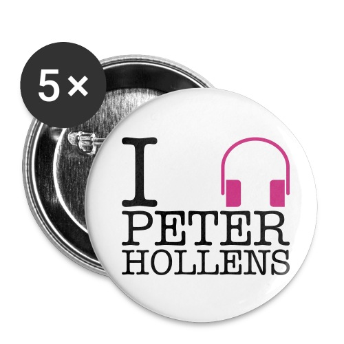 I listen to... - Buttons small 1'' (5-pack)
