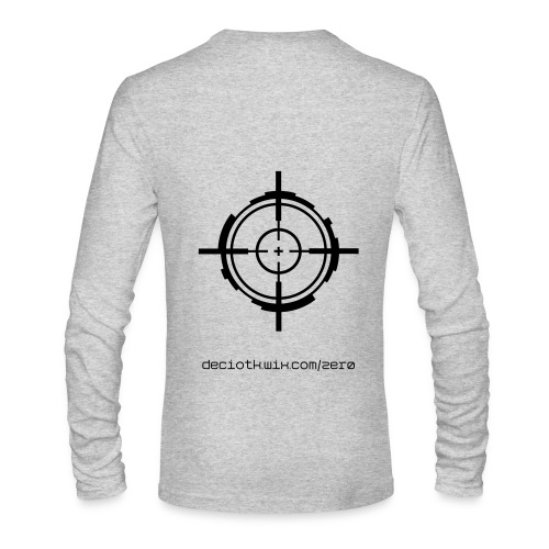 ZER0 Paintball Shirt - Men's Long Sleeve T-Shirt by Next Level