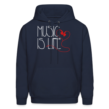 Music is Life Hoodies