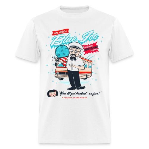 Mr. White's Blue Ice - Men's T-Shirt