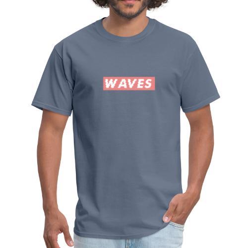 Deep Blue Waves - Men's T-Shirt