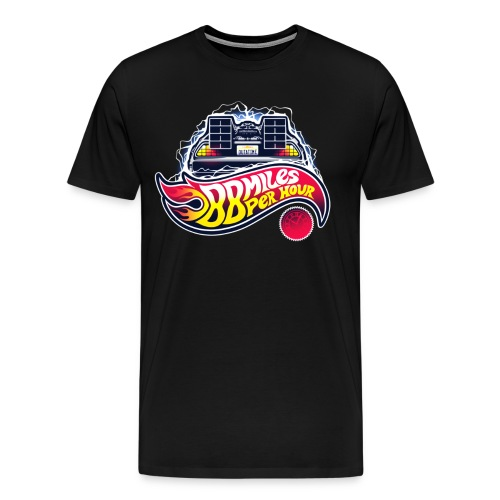 Back to the Future 88mph Shirt - Men's Premium T-Shirt
