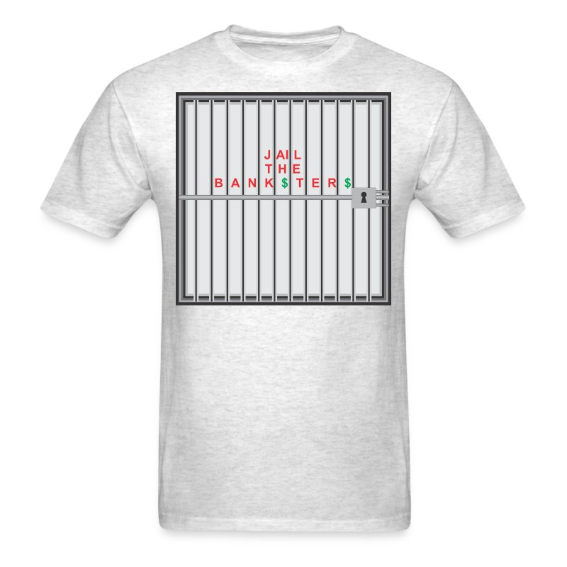 Jail Banksters - Men's T-Shirt