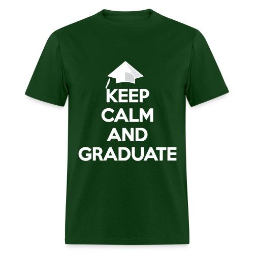Keep Calm and Graduate - Men's T-Shirt