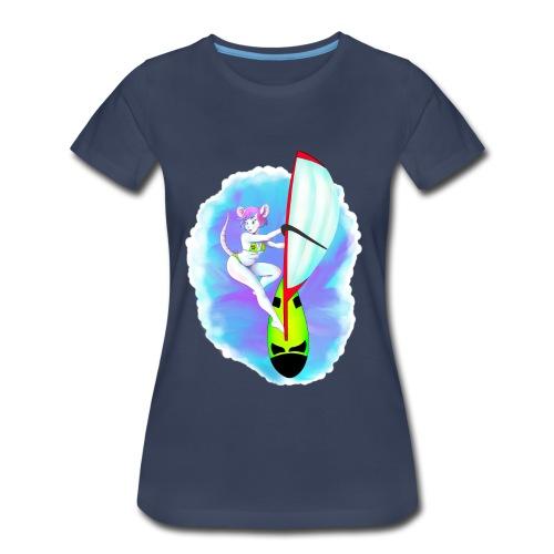 Surf Mouse - Women's Premium T-Shirt