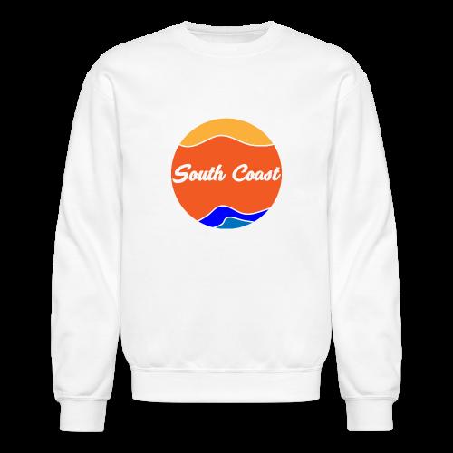 South Coast Men's Crow Neck Sweater - Crewneck Sweatshirt