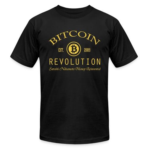 Bitcoin Revolution LOGO  - Men's Fine Jersey T-Shirt