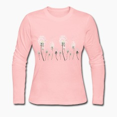 pusteblumen wiese,Dandelion meadow Long Sleeve Shirts
