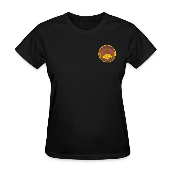 USS ABRAHAM LINCOLN CVN-72 WORLD CRUISE 2011-12 WOMENS CRUISE SHIRT