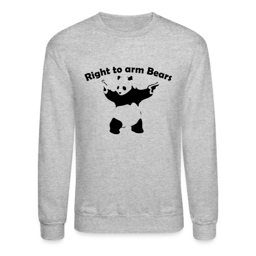 Right to arm Bears - Crewneck Sweatshirt