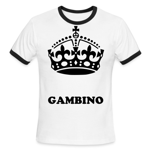 royal gambino - Men's Ringer T-Shirt