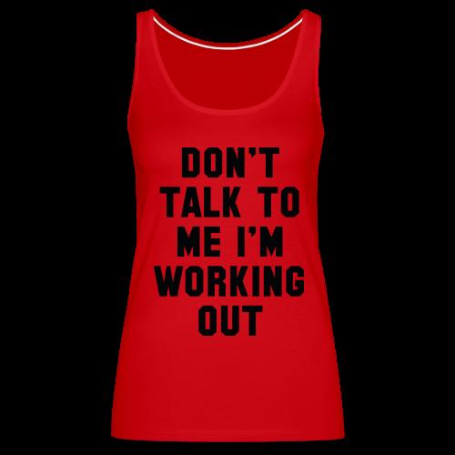 Women's Work Out Tank - Women's Premium Tank Top