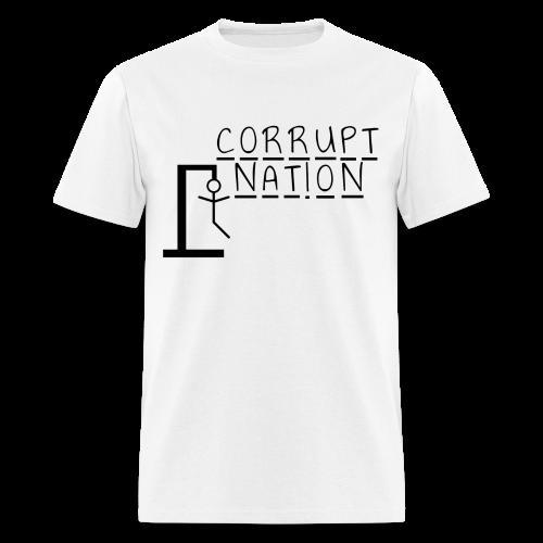 Corrupt Nation Hangman T-Shirt - Men's T-Shirt