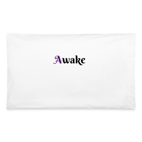Awake  purple 1st letterPillow Case - Pillowcase