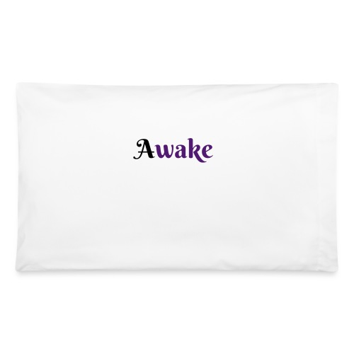 Awake  black 1st letterPillow Case - Pillowcase