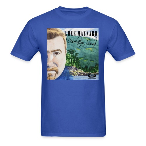 Luke Maynard - Desolation Sound Cover - Men's Tee - Men's T-Shirt