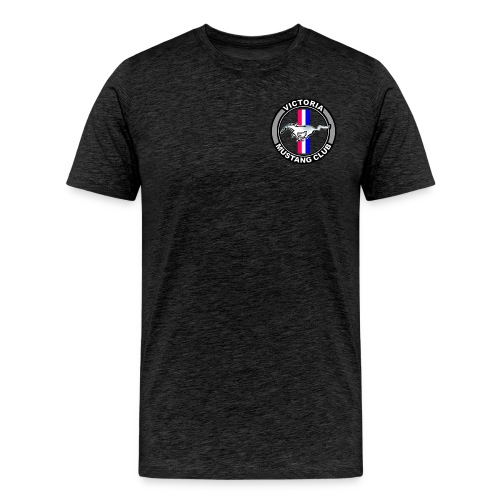 Victoria Mustang Owners Club - Men's Premium T-Shirt