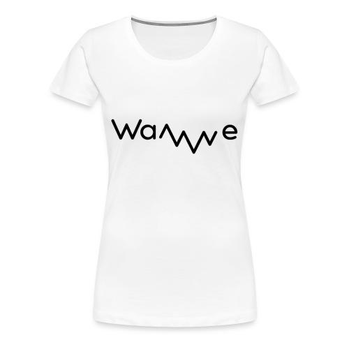 Womens Wave T-Shirt - Women's Premium T-Shirt