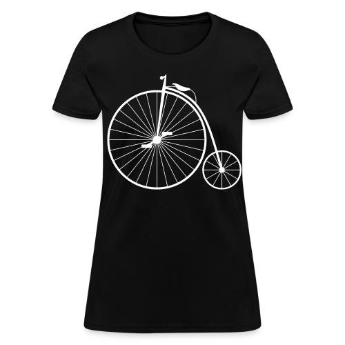 Penny Farthing W - Women's T-Shirt