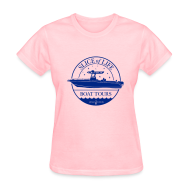 """Slice of Life"" Boat Tours Women's T-Shirts"