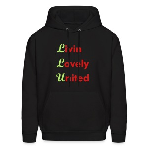 Livin Lovely United Men's Hooded Sweatshirt - Men's Hoodie