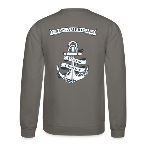 USS AMERICA PLANK OWNER SWEATSHIRT - Crewneck Sweatshirt