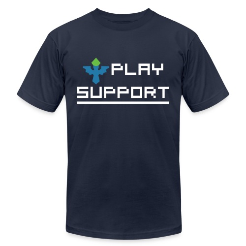 I Play Support - Men's Fine Jersey T-Shirt