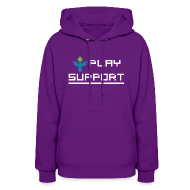 Hoodies ~ Women's Hoodie ~ I Play Support