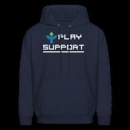 Hoodies ~ Men's Hoodie ~ I Play Support