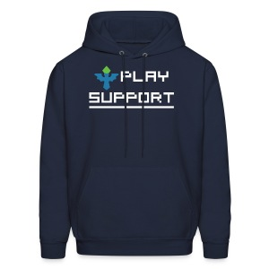 I Play Support - Men's Hoodie