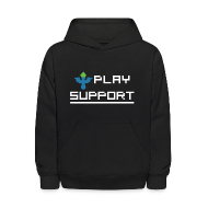 Sweatshirts ~ Kids' Hoodie ~ I Play Support