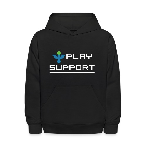 I Play Support - Kids' Hoodie