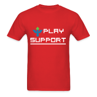 T-Shirts ~ Men's T-Shirt ~ I Play Support