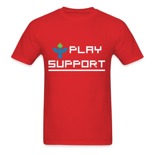 I Play Support - Men's T-Shirt
