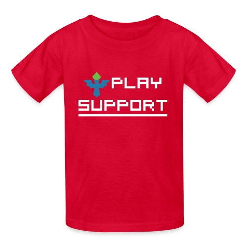 I Play Support - Kids' T-Shirt