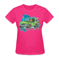 T-Shirts ~ Women's T-Shirt ~ Ongher's UFO