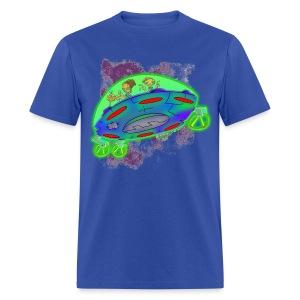 Ongher's UFO - Men's T-Shirt
