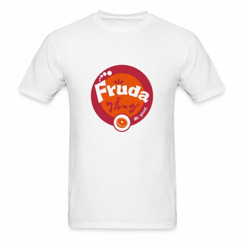 Fruda Orange (English on white) - Men's T-Shirt