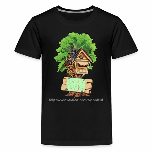 KIDS - Caleb's Clubhouse - (More Sizes & Colors) - Kids' Premium T-Shirt