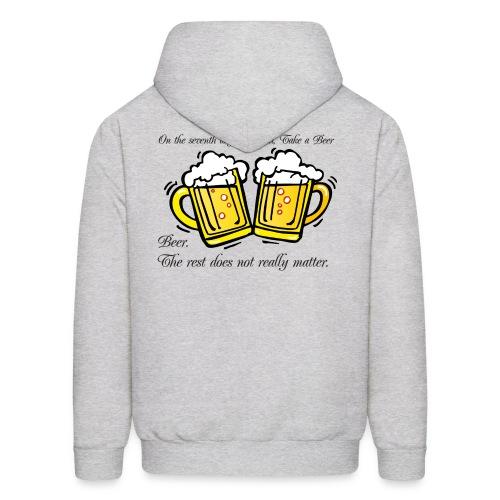7th day Beer - Men's Hoodie