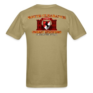 11th ACR - RC Sapper Back Only - Men's T-Shirt
