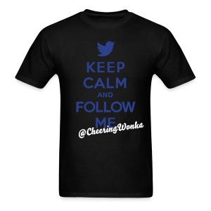 Keep Calm and Follow Me Name tee - Men's T-Shirt