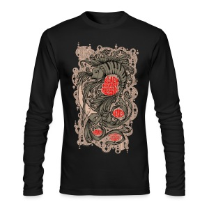 BLACK HEART PROCESSION - Men's Long Sleeve T-Shirt by Next Level