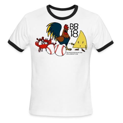 Mens BB18 Anniversary T-shirt - Men's Ringer T-Shirt