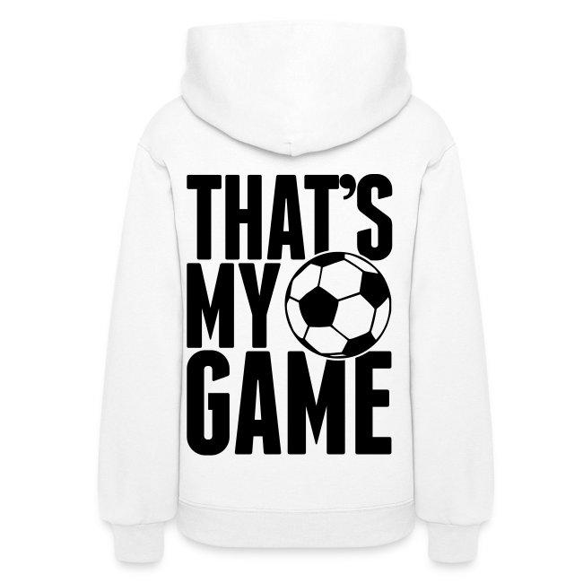 play soccer hoodie