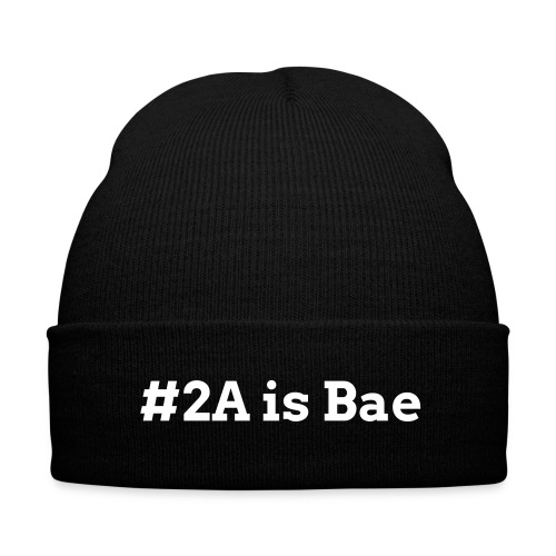 2A is Bae Cuffed Formal Beanie - Knit Cap with Cuff Print